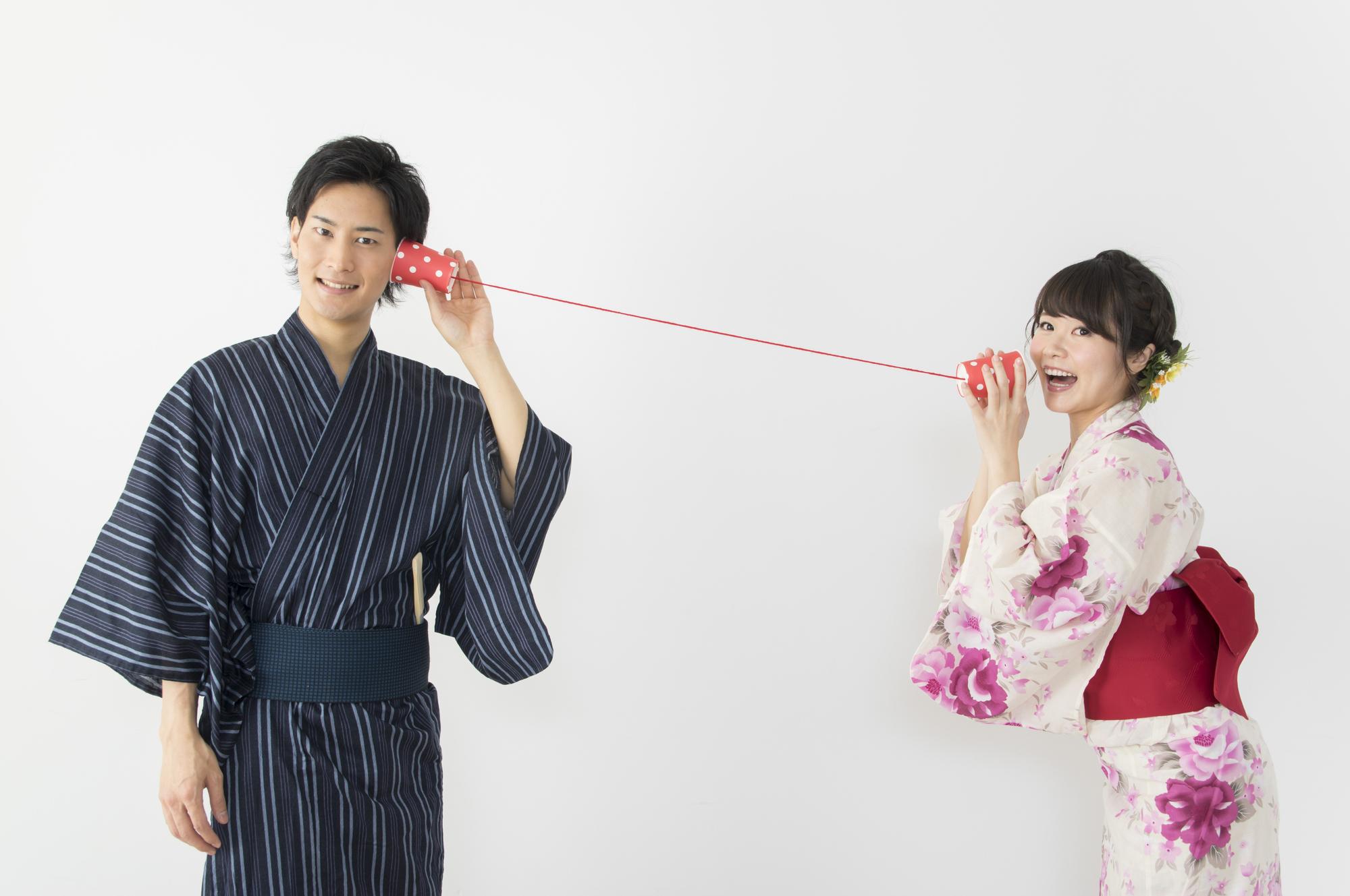 糸電話 イメージ写真