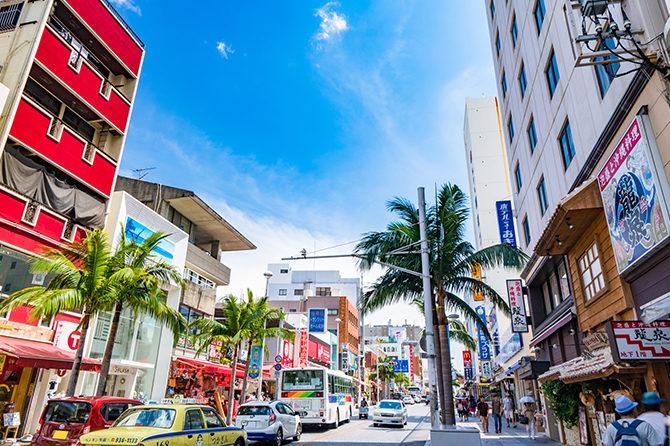 沖縄の冬は暖かい