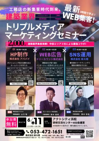 トリプルメディアマーケティングセミナー